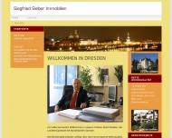 Bild Webseite Sieber Siegfried Immobilienbüro Dresden