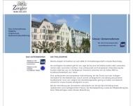 Bild Webseite Monika Ziegler Düsseldorf
