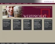 Bild Webseite Wertprojekt Wohn- u. Gewerbebauten Berlin
