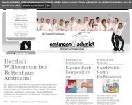 Bild Webseite Betten Schmidt Inh. Marion Amtmann Nürnberg
