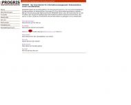 Website PROGRIS Projektgruppe Informationssysteme EDV