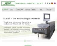 Bild Webseite Günther Kurt ELGET Limited Nürnberg