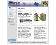 Bild Webseite Hamann Rainer Blomberg
