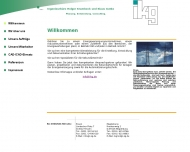 Website Ikg Ing.-Büro Krambeck u. Gutke