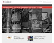 Website Hörmann Logistik