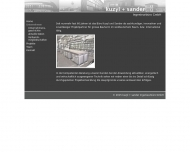 Website Kuzyl & Sander Ingenieurbüro