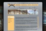 Website Dr.-Ing. Peter A. Kugler und Partner