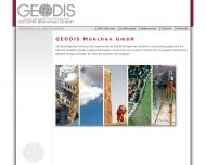 Website GEODIS München