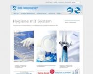 Website WEIGERT DR. Chemische Fabrik