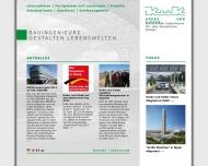 Website Krebs und Kiefer Beratende Ingenieure für das Bauwesen