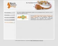 Website Moschs Elektroservice
