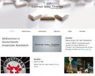 Bild Webseite Conrad Gley Thieme Werbeagentur Hamburg