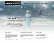 Bild Webseite Thouet Werbeagentur Aachen