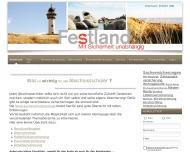 Bild Webseite Festland Verwaltungs Nürnberg