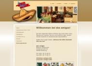 Bild Webseite dos amigos Mexikanisches Restaurant Hamburg