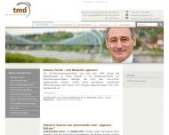 Bild Webseite TMD Unternehmensberatung Thomas Malmberg Dresden