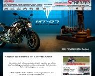 Bild Webseite Scherzer Feuchtwangen