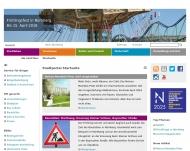 Bild Webseite Zentralbibliothek (Auskunft) Nürnberg