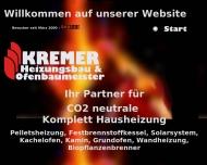 Bild Webseite Kremer Roger Kachelofenbaumeister Aull
