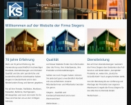 Kunstofffenster Siegers GmbH - Siegers Fensterbau