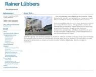 Bild Webseite Lübbers Rainer Rechtsanwalt Hamburg