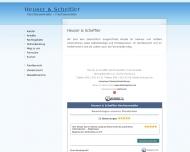 Bild Webseite Rechtsanwälte Heuser & Scheffler Hamburg