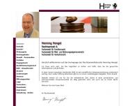 Bild Hengst Henning Rechtsanwalt