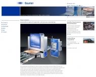 Bild Webseite Baumer Inspection Konstanz