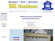 Bild Webseite Hochhaus Hans-Josef Garagentore Inden