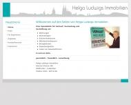 Bild Webseite Ludwigs Helga Immobilien Köln