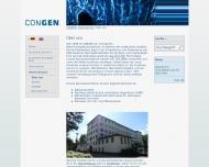 Website Congen Biotechnologie