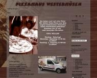 Bild Pizza Haus Westerhüsen Original italienischer Steinofen Restaurant
