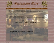 Website Pars Restaurant