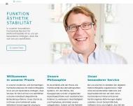Bild Webseite Gebhart Florian Dr.med.dent. München