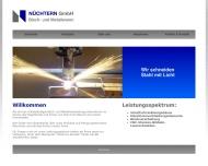Bild Webseite Nüchtern Blech- u. Metallwarengesellscaft Netphen