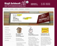 Website Gebhardt Birgit