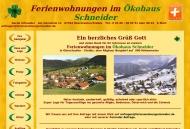 Bild Webseite  Oberstaufen