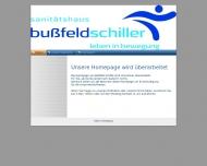 Bild Webseite Sanitätshaus Bußfeld & Schiller Büdingen