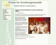 Bild Hoffmann Christina , Novakova Jitka Krankengymnastikpraxis