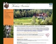 Bild Webseite  Baiersbronn