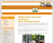 Bild Kleih Holzbau GmbH Zimmergeschäft