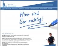 Bild Webseite Bücken Aachen