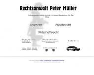 Bild Müller Peter Rechtsanwalt
