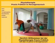 Bild Fröhlich Ursula Krankengymnastikpraxis