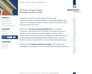 Bild Webseite Nagetusch Immobilien Wiesbaden