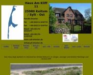Bild Webseite Draxler Franz Architekt Sylt-Ost