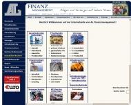 Bild Webseite AL Finanzmanagement Ansgar Lager Spelle