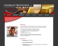 Bild Webseite Stefan Goldbach Trockenbau Stöttwang