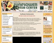 Website Sunflower Garten-Center
