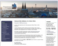 Bild Webseite Ritter Dieter Dr.med.dent. Zahnarzt Köln